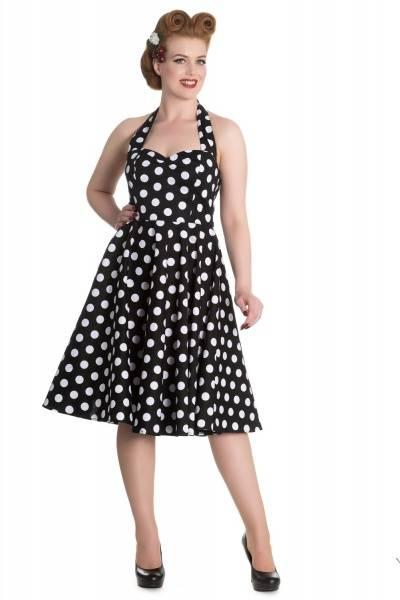 Bilde av Polka Dots Mariam Dress Black