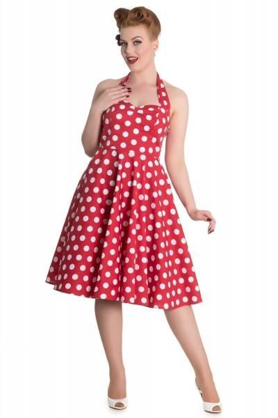 Bilde av Polka Dots Mariam Dress Red