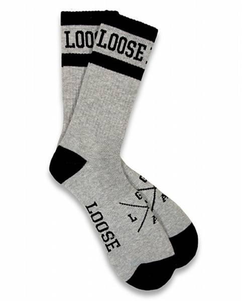 Bilde av Loose Rider Socks Gray