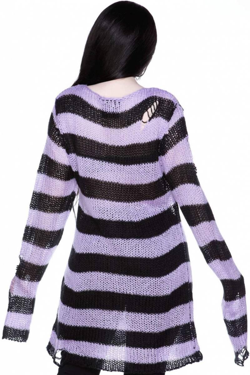 Lavender Mist Knit Sweater