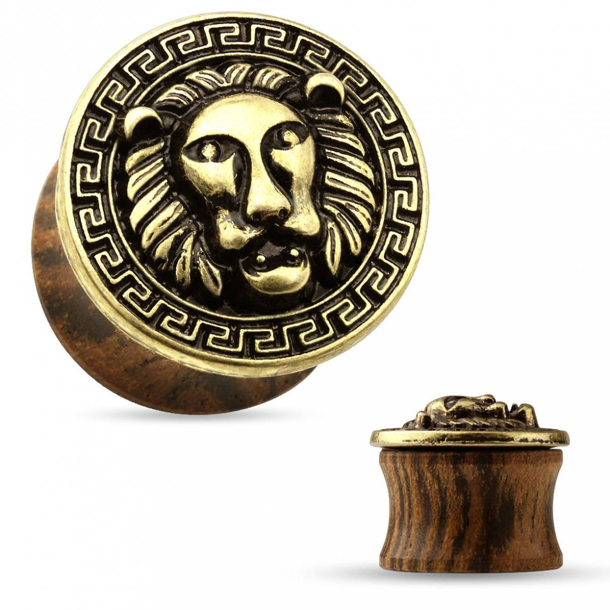 Organic Saddle Plug Lion
