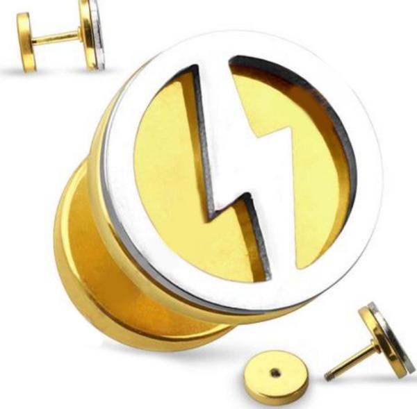 Bilde av Gold Bolt Fake Plug