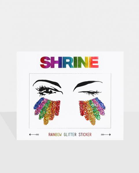 Bilde av Rainbow Glitter Sticker