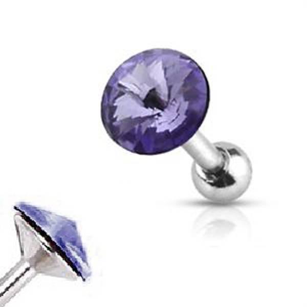 Bilde av Jeweled Barbell Purple