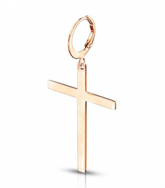 Bilde av Hoop Earring with Cross