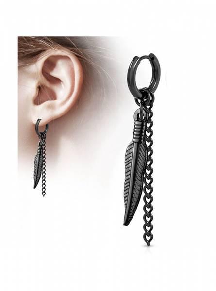 Bilde av Feather and Chain Dangle