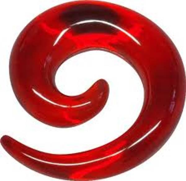 Bilde av Candy red Spiral