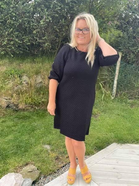 Bilde av Bobble dress Sort