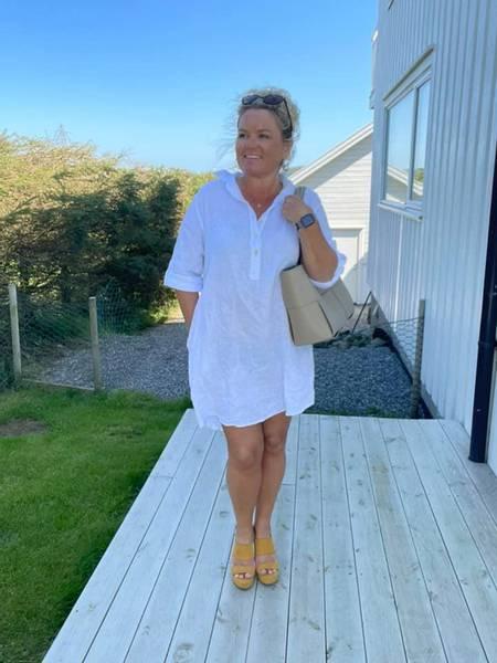 Bilde av Tunica /kjole hvit