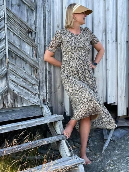 Bilde av Gry dress Sand mix