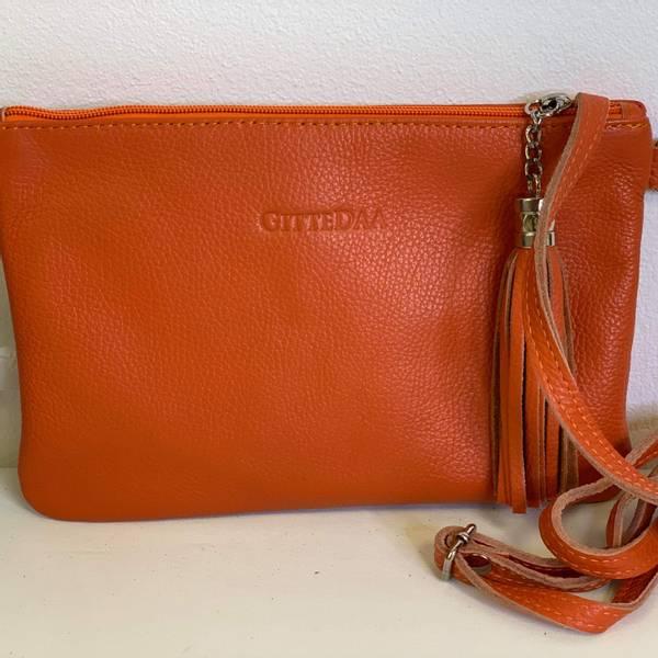 Bilde av Clutch mørk orange