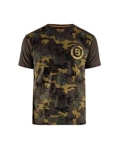 Bilde av Blåkläder T-Shirt ArmyGreen/Yellow L