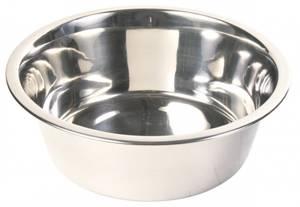 Bilde av Hundeskål i rustfritt stål, Trixie, 0,75L