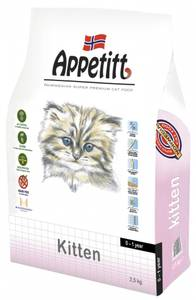 Bilde av Appetitt Kitten 2,5kg