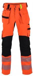 Bilde av Gjøvik håndverksbukse oransje/svart/gul