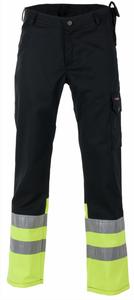 Bilde av Dokka bukse svart/gul en kasse 1