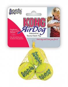 Bilde av Hundeleke Kong Air Squeaker Ball XS 3PK