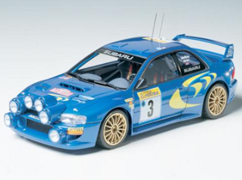 Bilde av 1:24 Subaru Impreza WRC