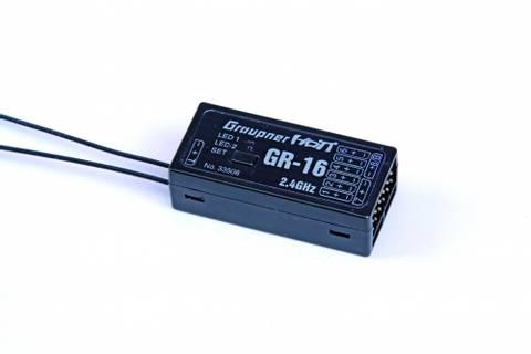 Bilde av Graupner GR-16 HoTT 2.4 GHz 8 kanaler