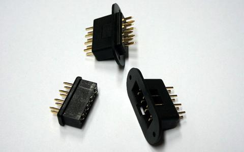 Bilde av 8-pins vingekontakt 2-par