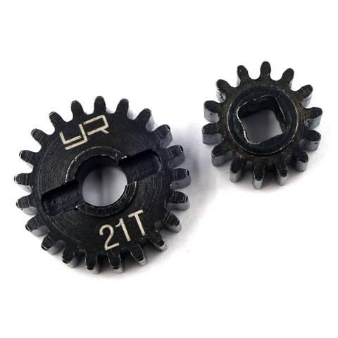 Bilde av 21T 14T HD steel overdrive portal machined gear