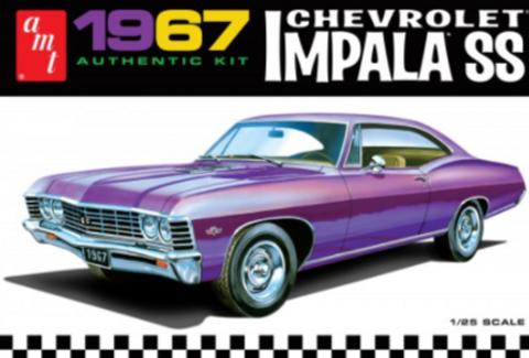 Bilde av 1:25 1967 Chevy Impala SS