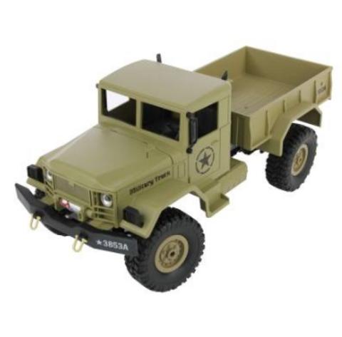 Bilde av 1:16 US Military Truck 4x4 2.4GHz