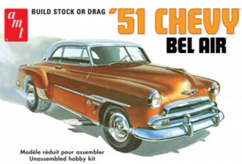 Bilde av 1:25 1951 Chevy Bel Air
