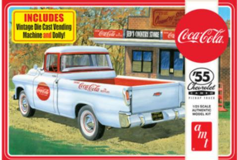 Bilde av 1:25 1955 Chevy Cameo Pick Up Coca Cola