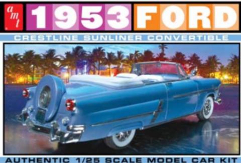 Bilde av 1:25 1953 Ford Convertible
