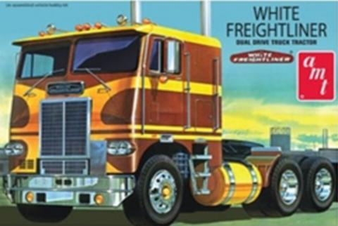 Bilde av 1:25 White Freightliner Dual Drive Tractor