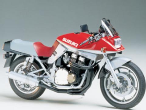 Bilde av 1:12 Suzuki GSX1100S Katana Custom Tuned
