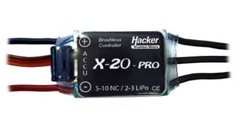 Bilde av Speed Controller X-20-Pro with BEC