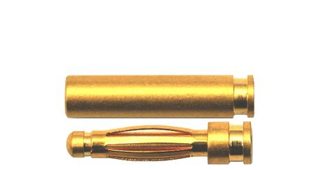Bilde av 2,0 mm Gullbelagt kontakt i par 10-pk Ultralight