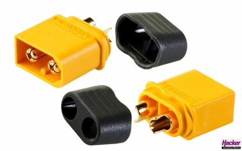Bilde av XT-60+ Plugs m/Kappe 5-pk