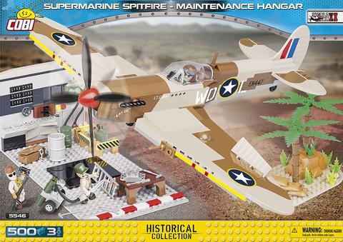Bilde av Supermarine Spitfire Mk.IX - Maintenance Hangar