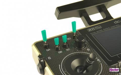 Bilde av Switch Caps Green 10-pk