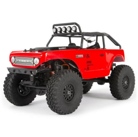 Bilde av 1/24 SCX24 Deadbolt Red 4WD Rock Crawler Brushed