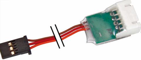 Bilde av Telemetrisensor Batteri 2-4S, XH