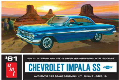 Bilde av 1:25 1961 Chevy Impala SS