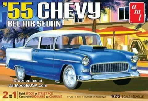 Bilde av 1:25 1955 Chevy Bel Air