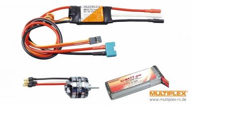 Bilde av Multiplex Power Drive Easystar II inkl. batteri