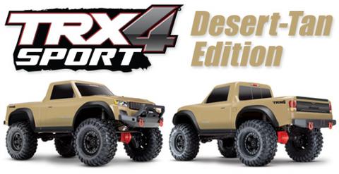 Bilde av TRX-4 Sport 4WD 1/10 Scale Crawler - Desert Tan