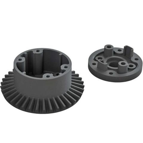 Bilde av AR 310872 Diff Case Set 37T Main Gear 4x4 BLX 4S