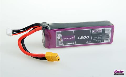 Bilde av Häcker TopFuel LiPo 35C Power-X 1800mAh 4S MTAG