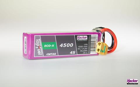 Bilde av Häcker TopFuel LiPo 20C-ECO-X 4500mAh 4S MTAG