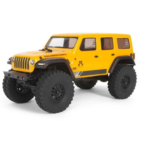 Bilde av 1/24 SCX24 2019 Jeep Wrangler Yellow JLU CRC 4WD