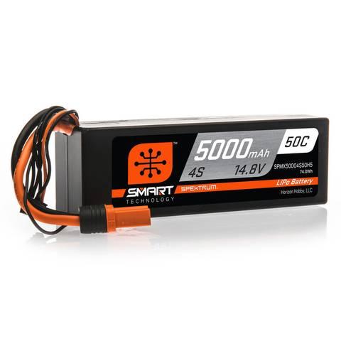 Bilde av Spektrum 14.8V 5000mAh 4S 50C Smart hardcase LiPo