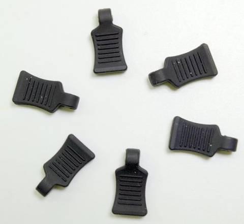 Bilde av Grip Black for Body clips 6-pk