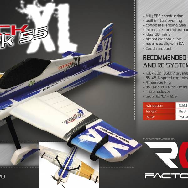 RCF Backyard Crack Yak XL 1080mm Kit